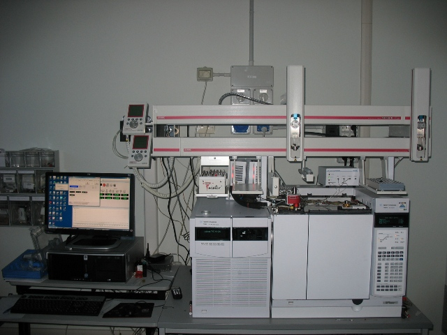 GC/MS Agilent 7000